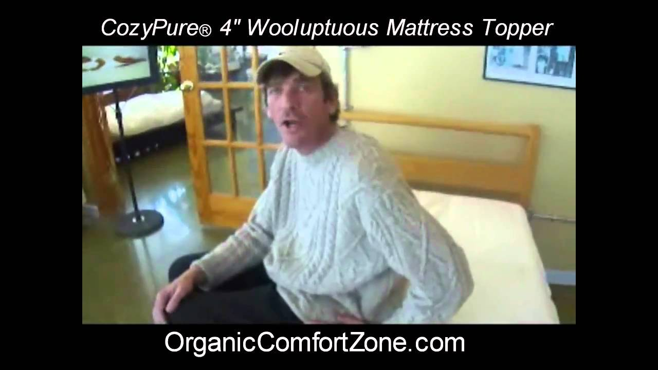 The Wooluptuous Thick Wool Mattress Topper Youtube