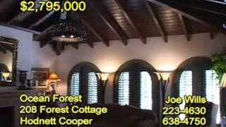 Forest Cottage 208, Sea Island, Georgia, For Sale