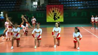 Соревнования по Черлидингу в Хабаровске