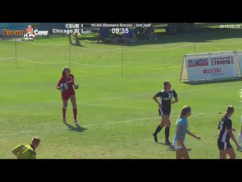 20171015 NCAA Womens Soccer: CSU Bakersfield  v Chicago State 2nd Half