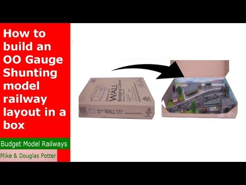 How to build an OO Gauge model railway layout in a box – OO Gauge Micro Layout