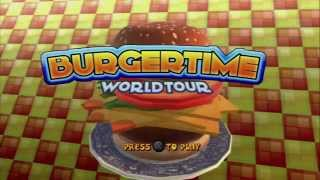 BurgerTime: World Tour -- Title Screen, Main Menu