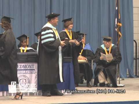 2012 Spring Graduation - Piedmont Technical College