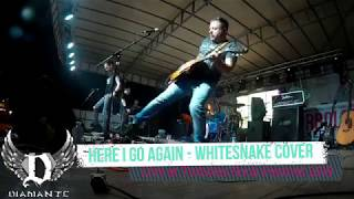 here i go again WHITESNAKE COVER by DIAMANTE at Torboles Rock Festival 2019 ITALY