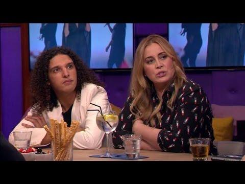 Anouk niet blij met uitvoering Trijntje op Songfestival - RTL LATE NIGHT