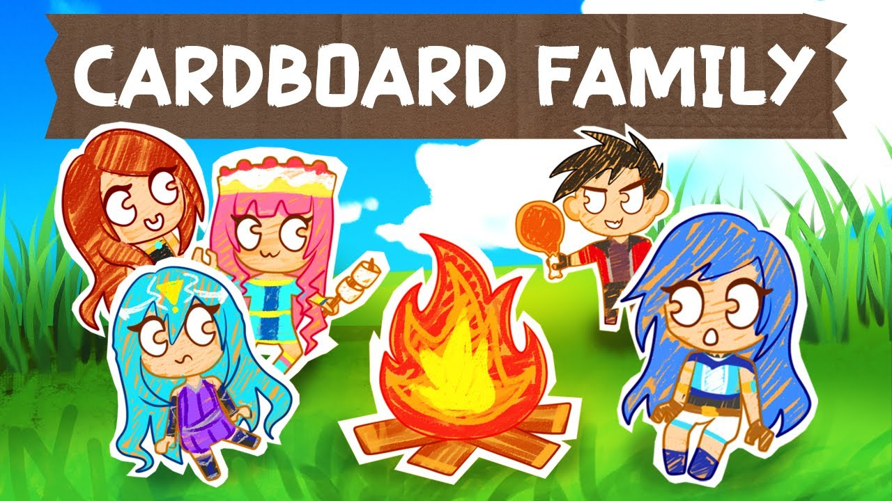 Download Life of a CARDBOARD Family...