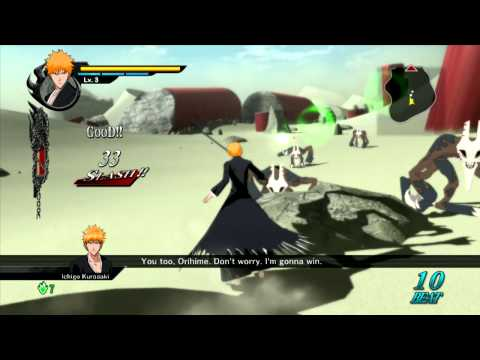 Bleach: Soul Resurreccion - Hollowfied Ichigo vs Ulquiorra