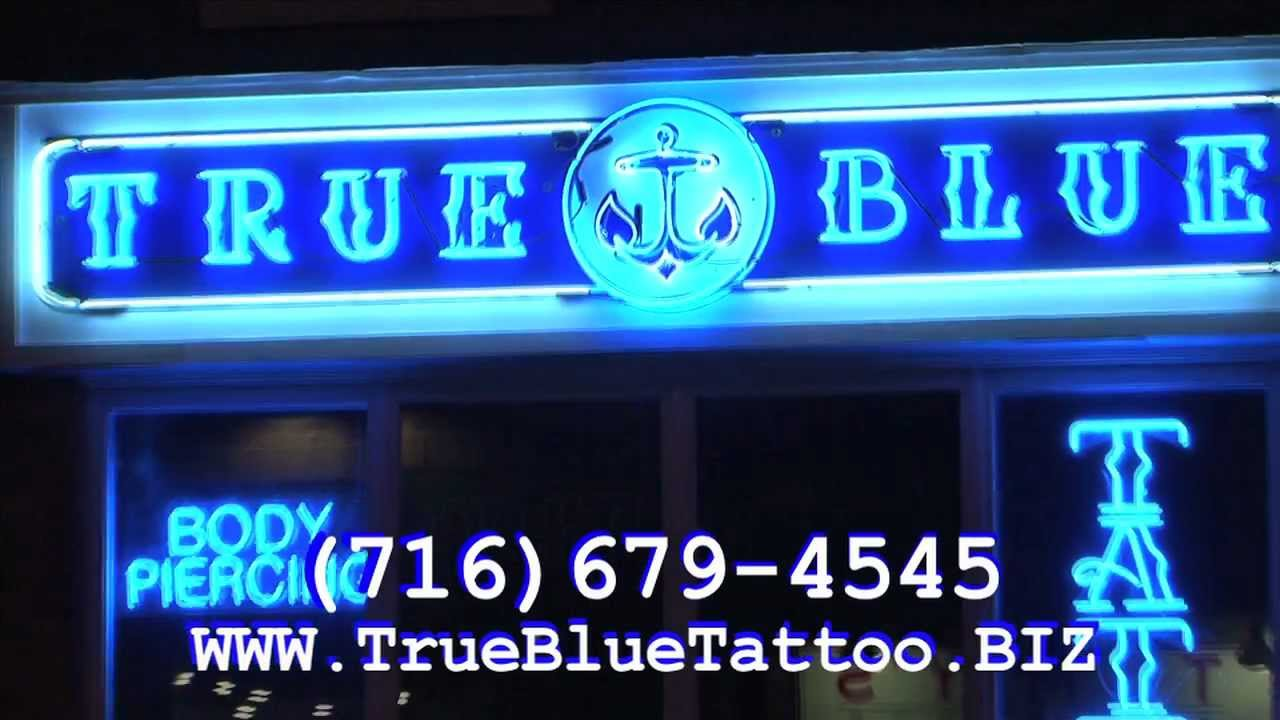 True Blue Tattoo Commercial A