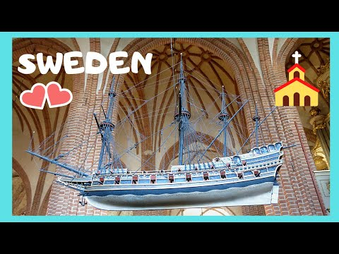STOCKHOLM, the magnificent Great Church (Storkyrkan) in SWEDEN