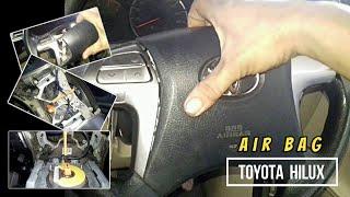Cara melepas airbag stir Toyota hilux/ part 1