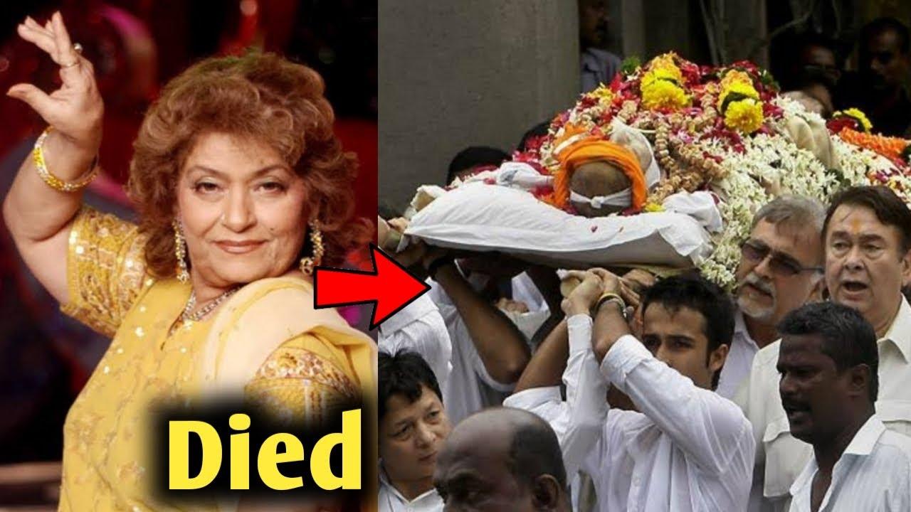 Bollywood Choreographer Saroj Khan का निधन ! Saroj Khan Passes Away Due to Cardiac Arrest in Mumbai