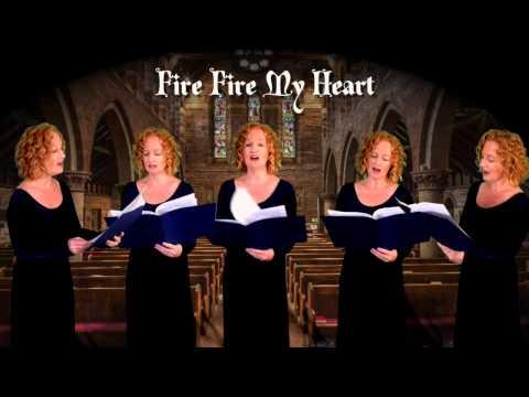 Fire Fire My Heart a cappella madrigal multitrack by Julie Gaulke