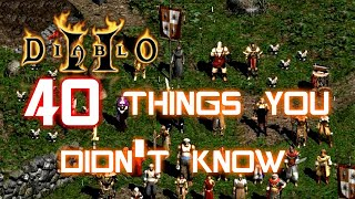 40 Things You Didn't Know About Diablo 2 - Xtimus