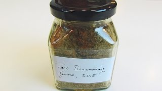 Betty's Taco Seasoning (second Blend)
