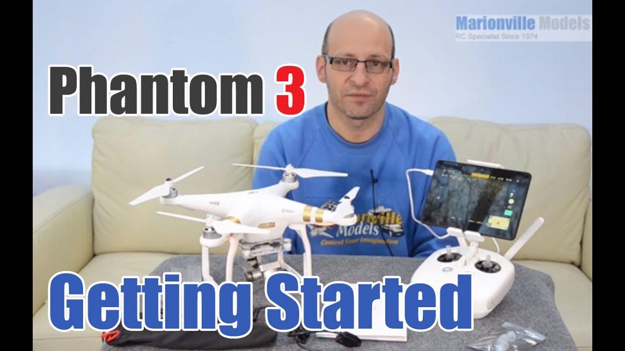 DJI Phantom 3 Pro/Advanced, Quick Start Guide, Setup & How To