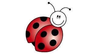 ladybug draw drawing ladybird illustrator adobe getdrawings