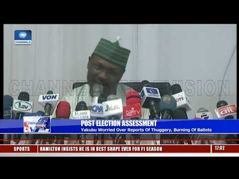 General Election: INEC Worried Over Reports Of Thuggery, Burning Of Ballots