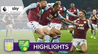 Abstiegskampf pur! 6-Punkte-Spiel findet Sieger | Aston Villa - Norwich City 1:0 | Highlights