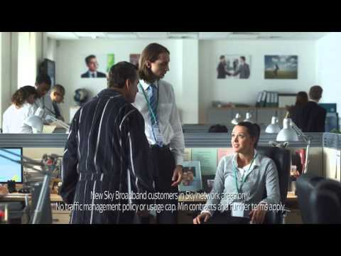 Sky Broadband - Bruce Willis Spoof feat. Jeff Stelling with music by Jonathan Goldstein