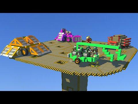 SKY SUMO PUSH CHALLENGE! (Scrap Mechanic)