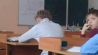 На уроке биологии 5 класс