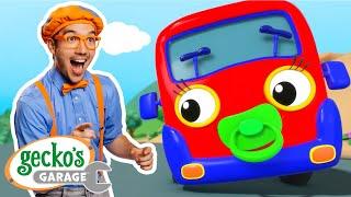 Baby Truck Song!   @Blippi - Educational Videos for Kids  & Gecko's Garage   Cartoons for Kids  
