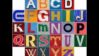 The Alphabet brought to you by Shade