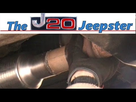 Changing out catalytic converter to a highflow on a 96 cherokee XJ