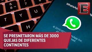 Whatsapp se cae otra vez a nivel mundial