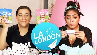 Women Swap Mystery Beauty Boxes • LA & London