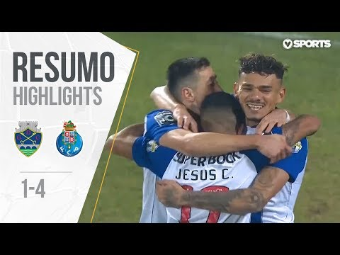 Highlights | Resumo: Chaves 1-4 FC Porto (Liga 18/19 #18)