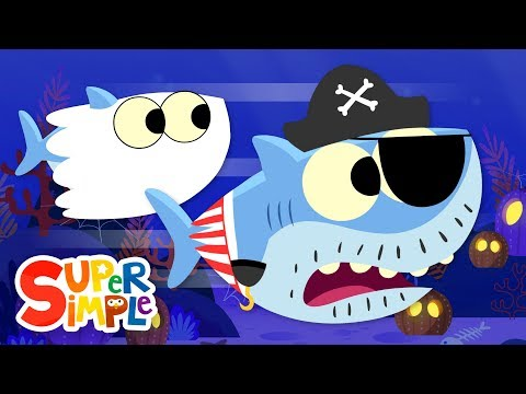 Ba Shark Halloween  Kids Sgs  Super Simple Sgs