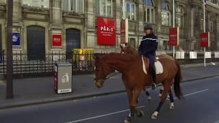 Coronavirus : la capitale désertée pendant le confinement (23 mars 2020, Paris) [4K]