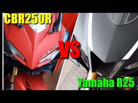 Honda CBR 250R VS Yamaha R25 2019