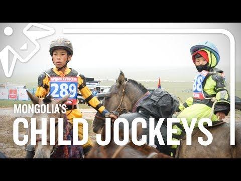 The Child Jockeys Of Mongolia