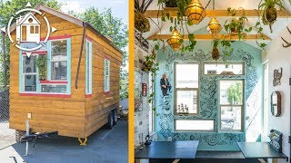 Her Funky Tiny House Doubles As Mobile Business