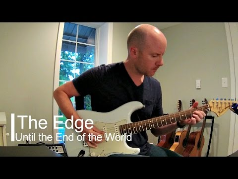 U2: Until the End of the World (The Edge's greatest riff) + TAB