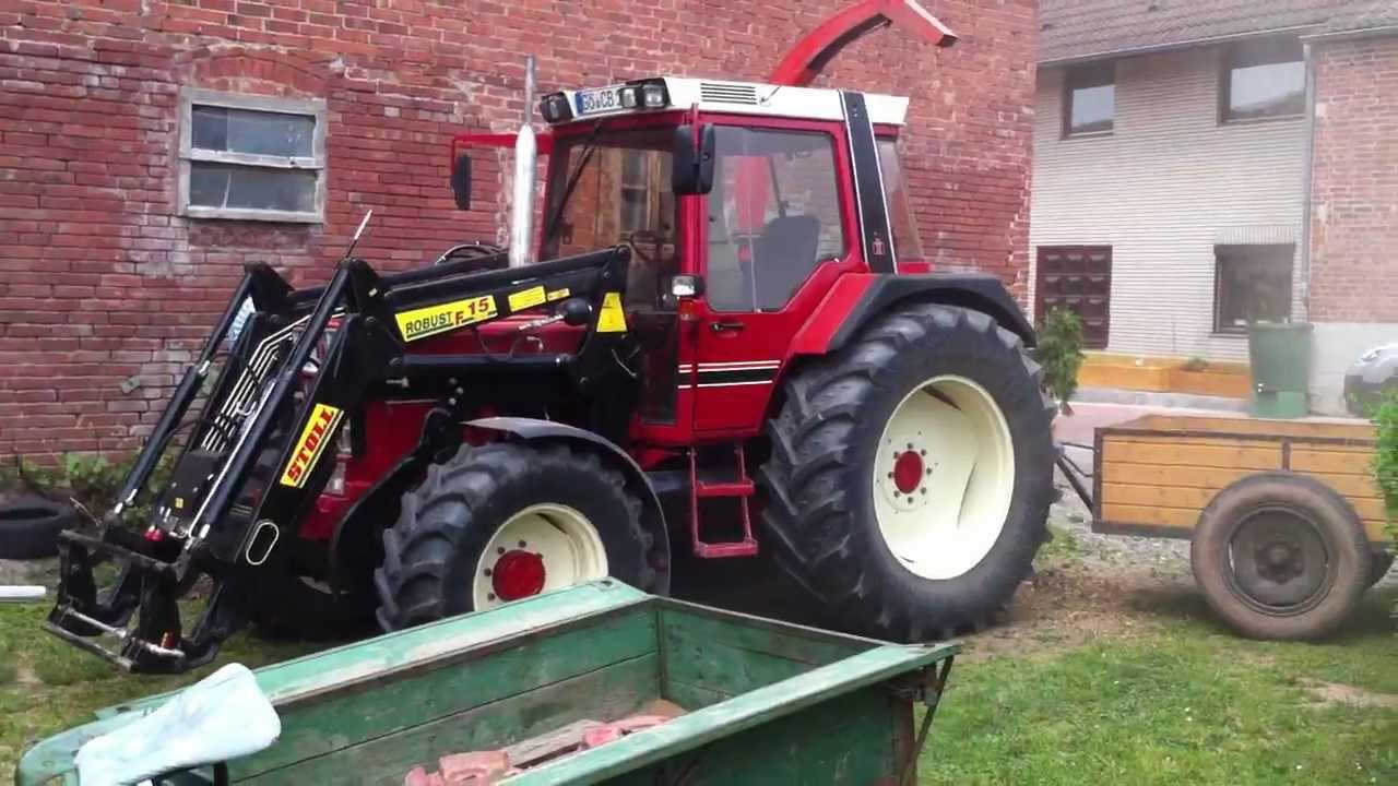 ihc 844 xl traktor mit deutz fahr mh 650s maish cksler. Black Bedroom Furniture Sets. Home Design Ideas
