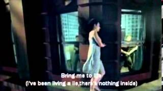 evanescence-bring me to life (official video with lyrics)