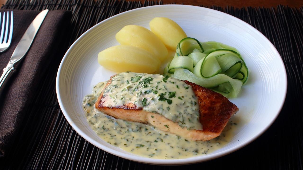 Norwegian butter sauce recipe how to make sandefjordsmr youtube forumfinder Gallery