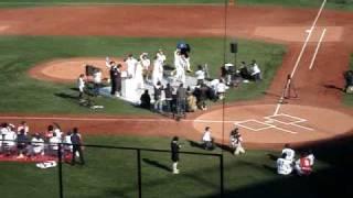 2008年 東京ヤクルトスワローズ ファン感謝デー カラオケ大会 青木・川...