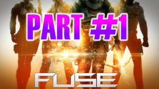 Fuse (2013) Video Game - Gameplay Walkthrough Part 1 - Chapter 1: Casual Friday (Xbox 360/PS3 HD)