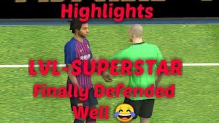 FC Barcelona vs Monaco Highlights (SuperStar Level match) Pes 2019 Mobile