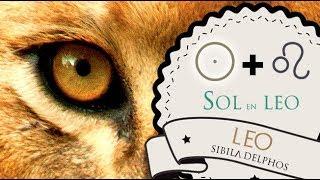 SOL EN LEO ♌ La personalidad de Leo