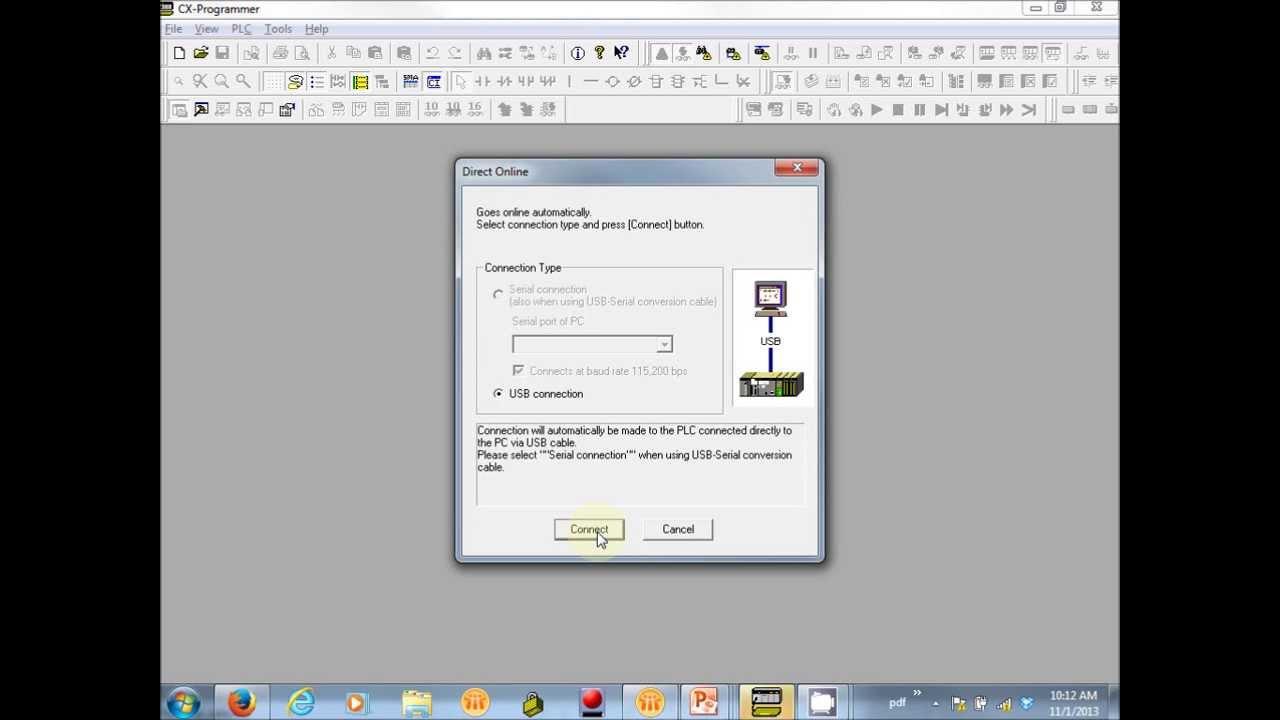 CP1 PLC USB Driver Installation