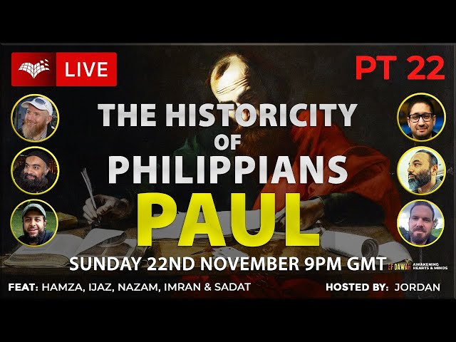 Testing the Historicity of Philippians   Paul