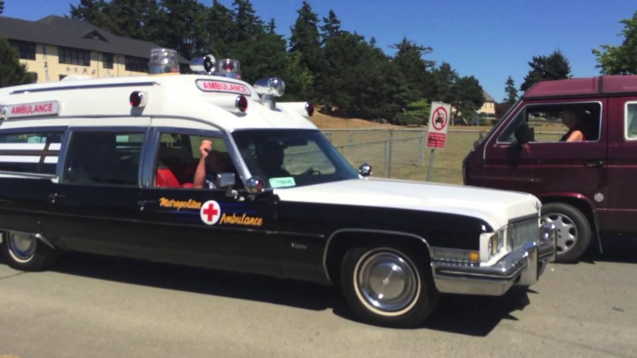 Cadillac Ambulance - YouTube