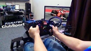 Обзор лучшего руля для F1 - Fanatec ClubSport Steering Wheel Formula Black