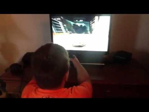 Kellen Michael playing a video game