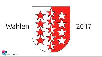 Wahlen im Wallis am 5. März 2017